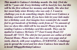 #HappyBirthdayCadence
