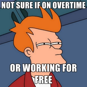 overtime or free
