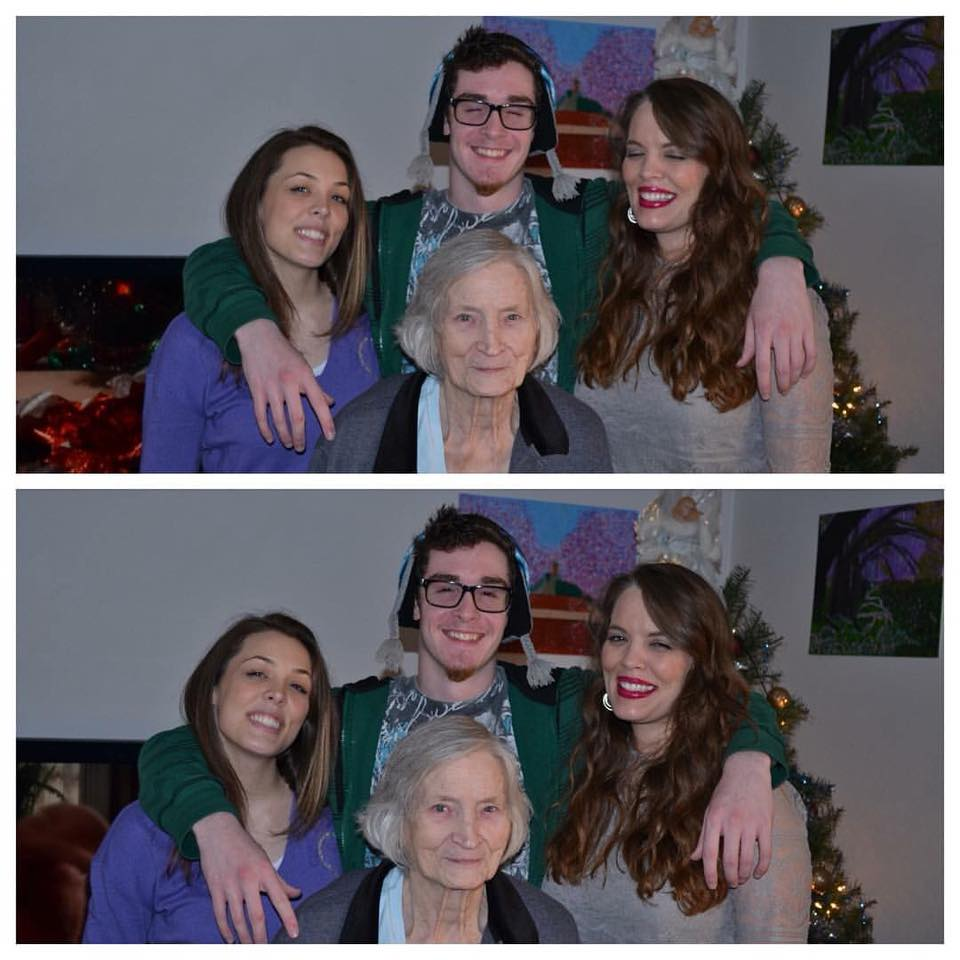 Grandma shes the beautiful one in the