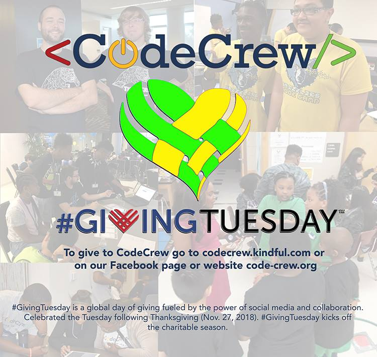 Giving Tuesday CodeCrew